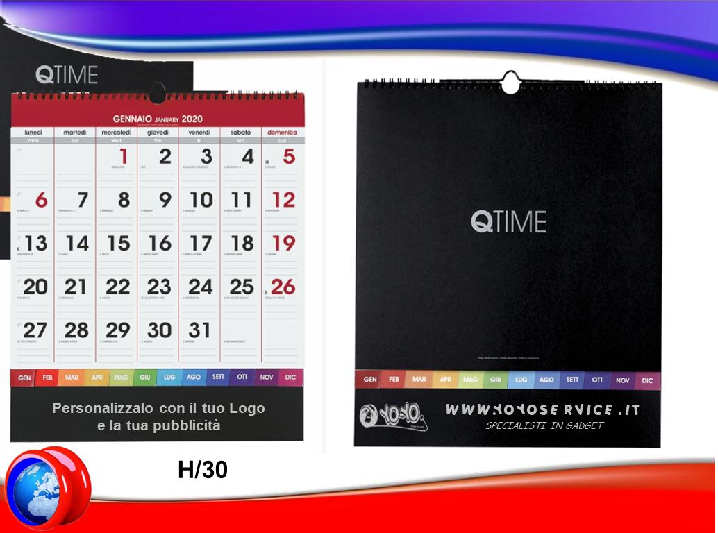 Calendario 2020 Da Tavolo.Calendario Da Tavolo Q Time 2020