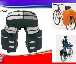 """56-0230500   Set Bagaglio Bicicletta """"Bike"""""""