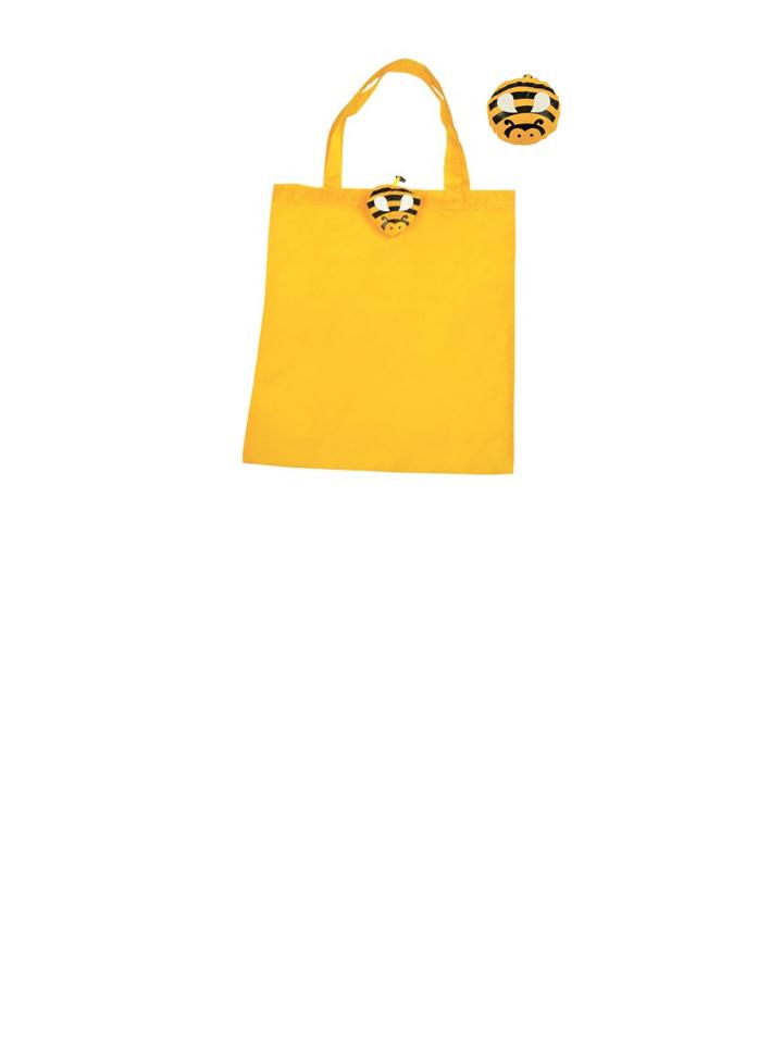 shopper animali ape poliestere shoppers gadget articolo promozionale regalo pubblicità pubblicitario